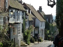 Rye, Old houses on Mermaid Street, East Sussex © Copyright Rob Farrow