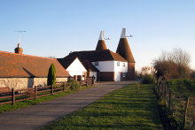 Icklesham, Manor Farm Oast, Sussex © Oast House Archive